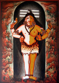 Siva-Ardhanariswara